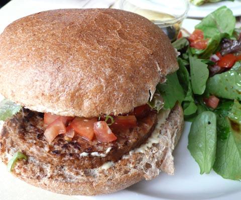 cafe muse veggie burger