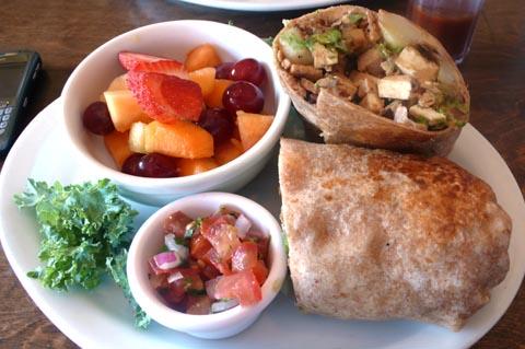 flore breakfast burrito