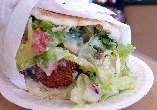 Falafel Sandwich, $6