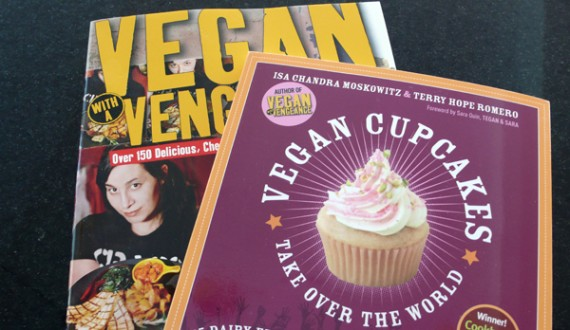 vegan cookbooks! w00t!