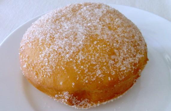 fresh organic donut. $2