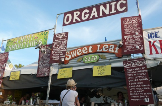 sweet leaf organics at coachella