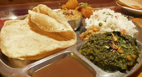 Punjab Glory at Paru's Indian Vegetarian Restaurant