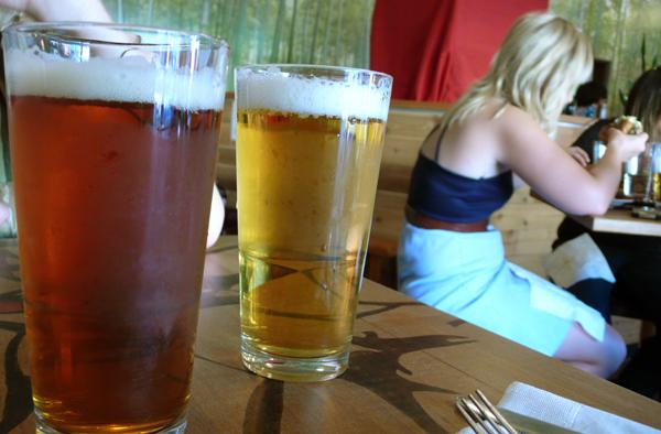 beer beer beer. on tap.