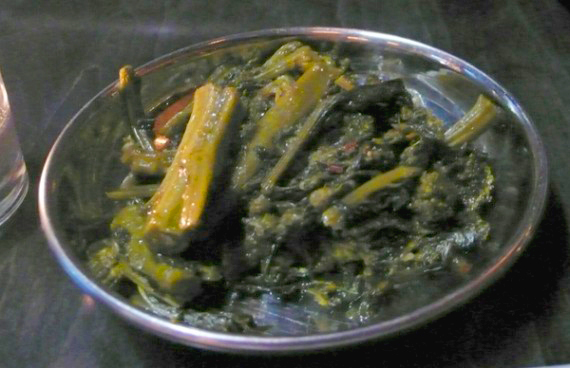 roman broccoli: tender rapini slow cooked with extra virgin olive oil, garlic, and red chile flake