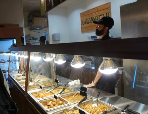 bawarchi vegetarian dude