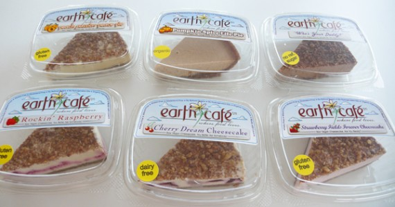earth cafe vegan cheesecakes and pies
