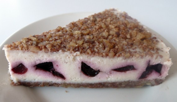 Cherry Dream Cheesecake by Earth Cafe