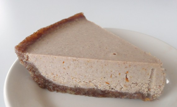 Pumpkin Spice Life Pie by Earth Cafe