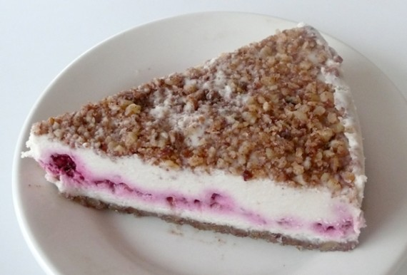 Rockin' Raspberry Cheesecake by Earth Cafe