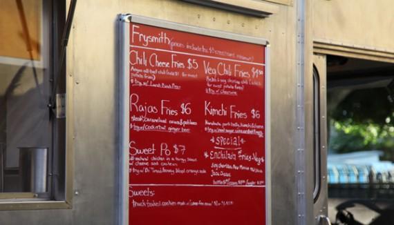 frysmith menu