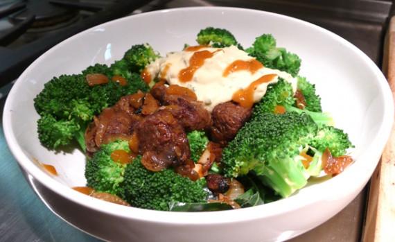 gardein vegan beef bowl