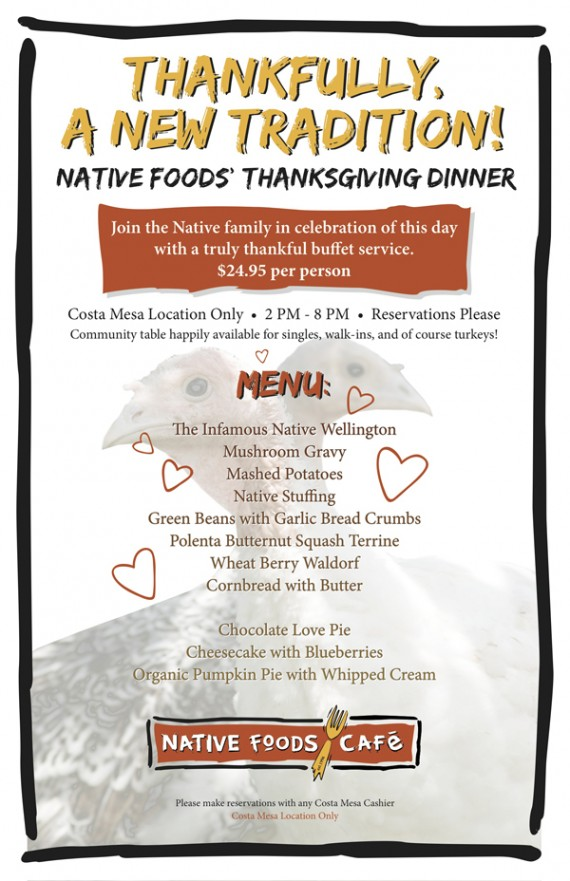 native foods menu