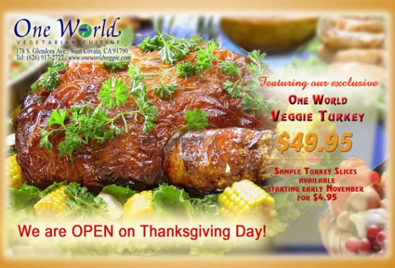 one world thanksgiving