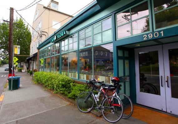 Cafe Flora  East Madison Street Seattle Wa