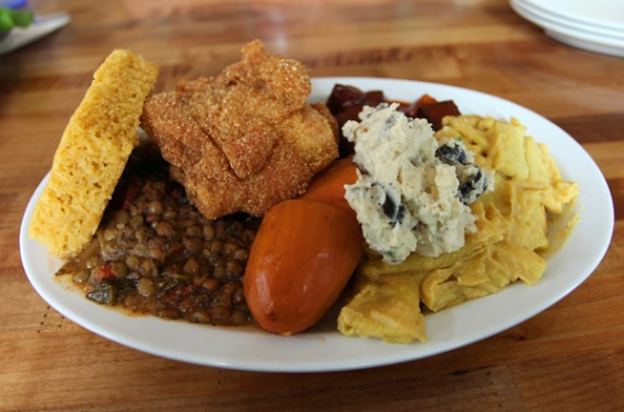 the everything plate ... & quarrygirl.com » Blog Archive » epic feasting at souley vegan in oakland