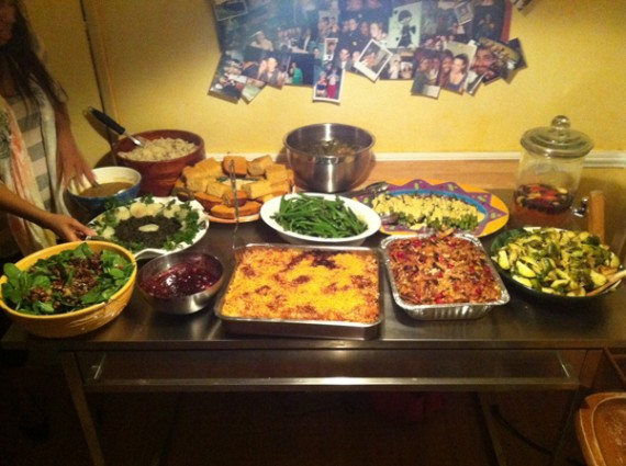 100 [ A Whole Foods Thanksgiving Dinner ]