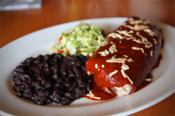 roasted vegetable enchilada burrito vegan a blend of diced roasted ...