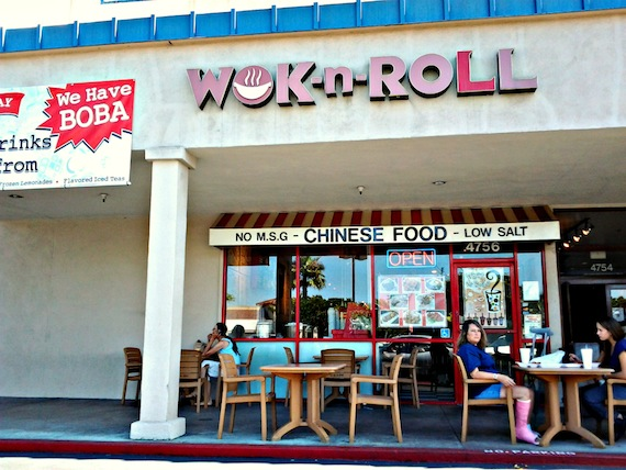 Blog Archive Vegan Chinese Food At Wok N Roll In Long Beach